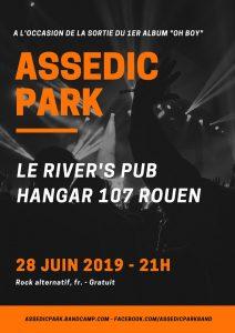Concert Assedic Park en live @ River's Pub