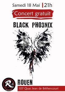Concert Black pho3nix en live @ River's Pub