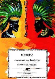 Concert Motema en live @ River's Pub