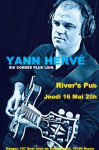 Concert Yann Hervé en live @ River's Pub