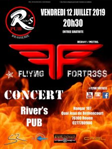 Concert Flying Fortress en live